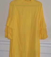 Zara zuta haljina
