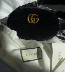 Original Gucci belt bag-suede