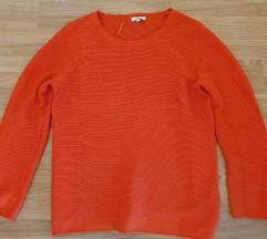 Tom Tailor končana majica narančasta, vel.L