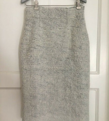 SAD 90KN ZARA siva pencil suknja vel M