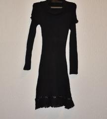 Elegantna pletena haljina