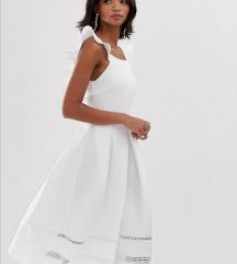 ASOS bijela svečana haljina (pt gratis)