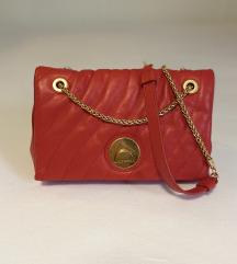 Coccinelle crvena kožna torba**