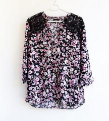 Nova cvjetna bluza s čupkom