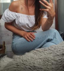 Bijela like Zara bluza/top