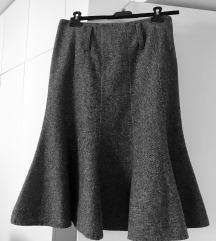 Zvonolika zimska suknja