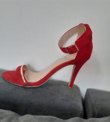 Crvene sandale 36