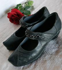 Crne Dr.Jurgens kožne cipele 39