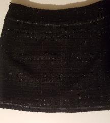 Bukle suknja sa sjajnim nitima 42