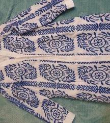 Zara retro vezena haljina
