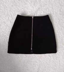 Mini brusena suknja