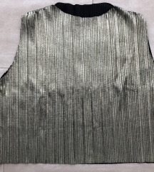 Metalik zelenkasta bluza Novo