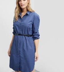 Mango Violeta haljina košulja s pojasom