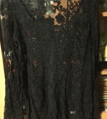 Til/čipka majica L(XL) novo