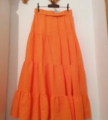 H&m maxi suknja