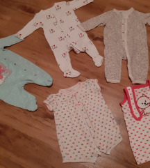Pidžame za bebe djevojčice