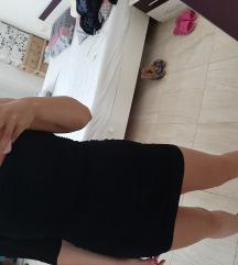 haljina jedno rame  crna