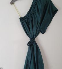 Haljina smaragdno zelena