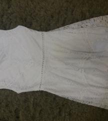 Bijela haljina s čipkom