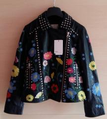 Asos nova kožna jakna sa etiketom