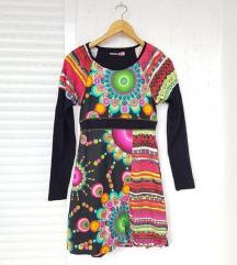 DESIGUAL šarena haljina dugih rukava