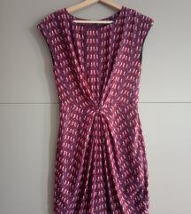 ZARA haljina s uzorkom