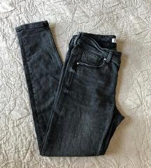 Zara crne skinny traperice