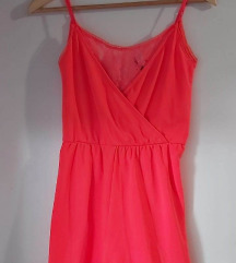 Ljetni kombinezon kričavo ružičaste boje