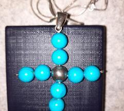 Ogrlica SREBRO sa privjeskom