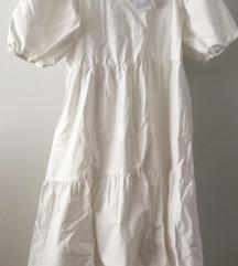 Zara bijela haljina NOVO
