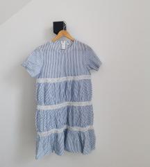 Ljetna haljinica na pruge