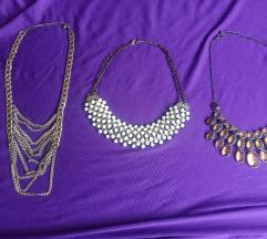 Ogrlice 3 komada
