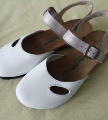 AKCIJA! Niske ljetne cipele od prave kože