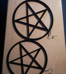 Pentagram naušnice