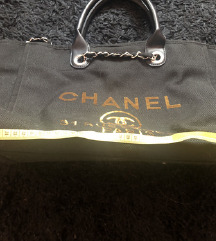 %%Chanel Deauville Tote Bag