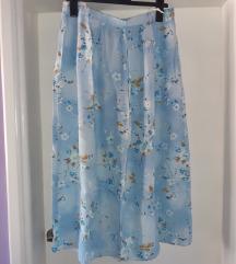 🌞 Plus size UK 20 midi suknja visokog struka