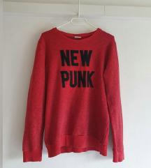 Zara sweatshirt 100% pamuk, kao novo
