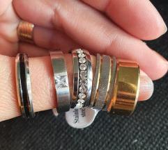 Razni prsteni od čelika