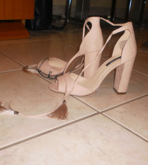Sandale nude rose 38