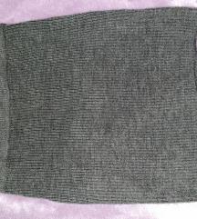 Mini c&a  pletena suknja