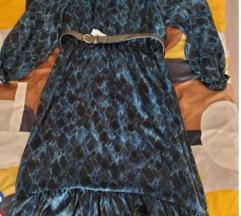 Zara haljina sa pojasom