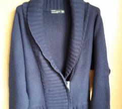 Zara topla plava vesta