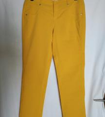 Oker žute slim hlače bpc XL 44