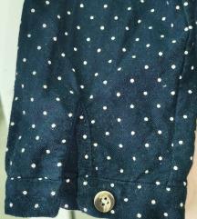 Plava, slatka haljina NOVA