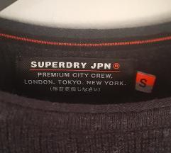NOVA Superdry siva vunena vesta