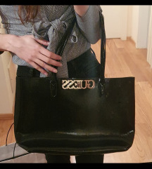 guess uptown chic barcelona tote bag