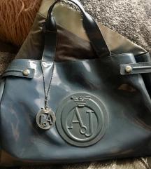 AJ ORIGINAL pvc siva torba