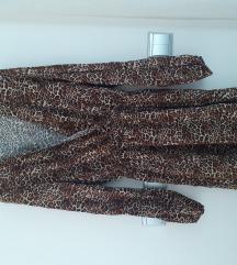 STRADIVARIUS haljina tigrasti uzorak 38
