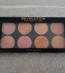 Revolution Blush Golden Sugar 2 Rose Gold Paleta