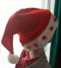 Božićna kapica sa zvjezdicama